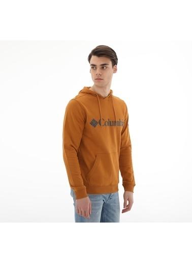 Columbia Columbia CS0030 Csc Basic Logo Erkek    Sweatshirt Sarı